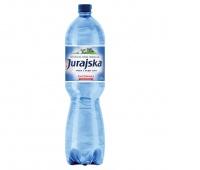 WODA JURAJSKA 1,5L GAZOWANA, Woda, Artykuły spożywcze