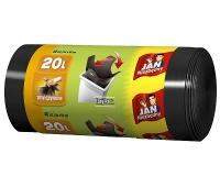 WORKI NA ŚMIECI HD EASY-PACK 20l CZARNE 40szt JN, Worki, Artykuły higieniczne i dozowniki