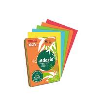 PAPIER KSERO A4 80G ADAGIO 70 POMARAŃCZOWY DYNIOWY, Papiery kolorowe, Papier i etykiety